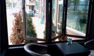 Прозорци тип хармоника- кафене в гр.Перник
